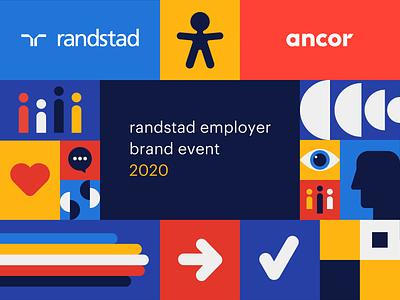 Randstad Employer Brand Research 2020 corporate identity иллюстрация illustration вектор branding identity graphic design design идентичность брендинг. графический дизайн