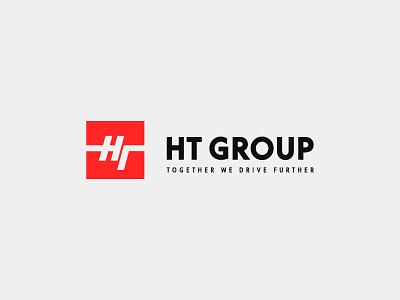 HT Group graphic design identity design дизайн логотип идентичность графический дизайн