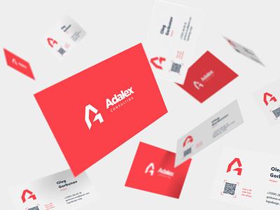 Adalex Consulting logo branding. design дизайн дизайн логотипа брендинг. графический дизайн