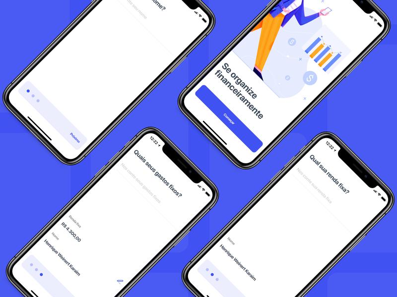 Case finance money finance mobile icon app illustration design ui ux