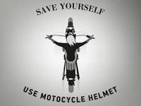 Use the helmet