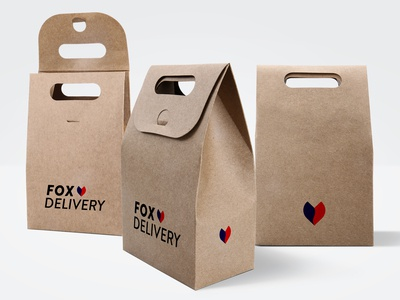 Fox Delivery Logo Design