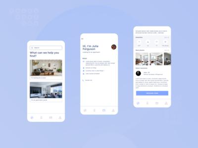 Find room / roomate app
