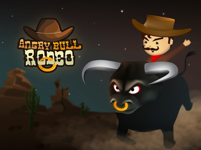 Rodeo Game Poster