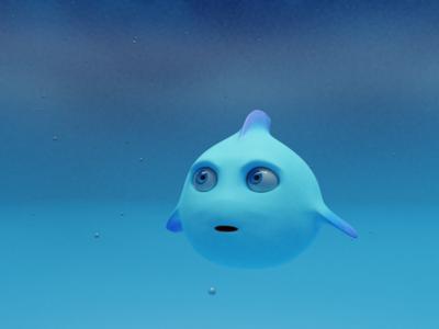 Fish Mascot 3D