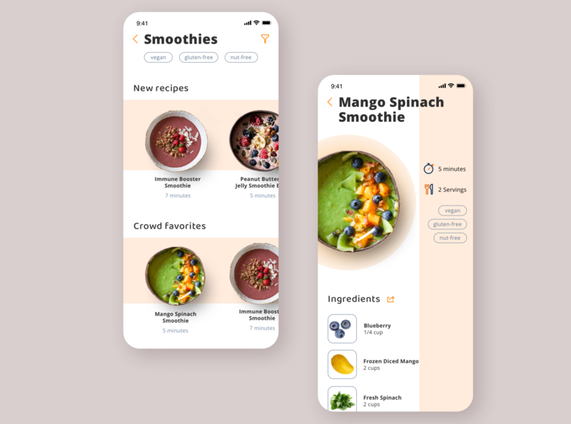 Bi-Weekly UI Challenge 02 - Recipes