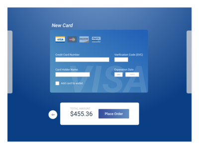 Day #002 - Credit Card Checkout 100 days of ui challenge daily ui