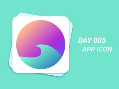 Day #005 - App Icon ui design 100 days of ui challenge daily ui challenge