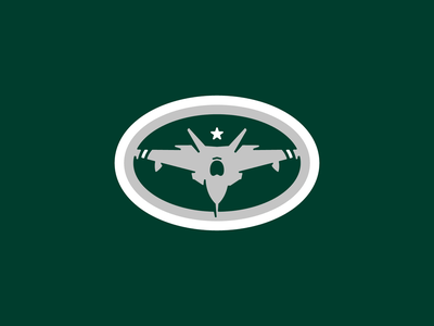 New York Jets crest badge logo jets team sports fighter plane new york jets new york american football nfl
