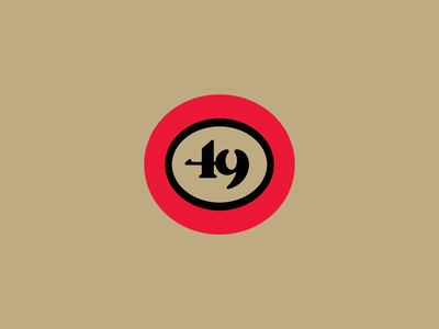 San Francisco 49ers clean flat national american 49 badge sports logo team nfl football 49ers san francisco