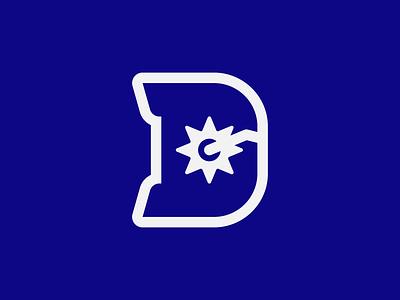 Dallas Cowboys sports spur c letter d letter flat clean american national redesign badge logo club team nfl cowboys dallas