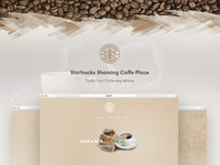 Starbucks - Coffeeshop Template