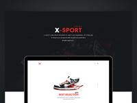 X-Sport Onepage Theme