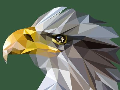 Eager Eagle art geometric