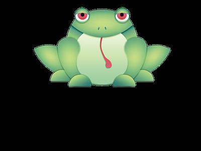 RIBBIT golden ratio logo design graphic design frog graphic design logo