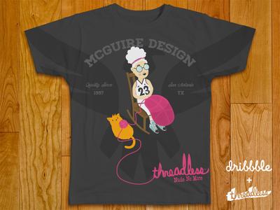 Dribbble + Threadless Shirt 01