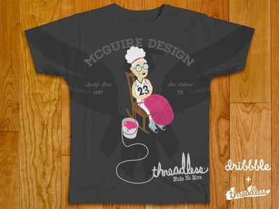Dribbble + Threadless Shirt 02