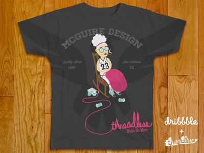 Dribbble + Threadless Shirt 03