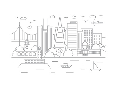 Dribbble render san francisco
