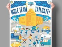 2015 Alamo Heights Mule Team Tailgate Event