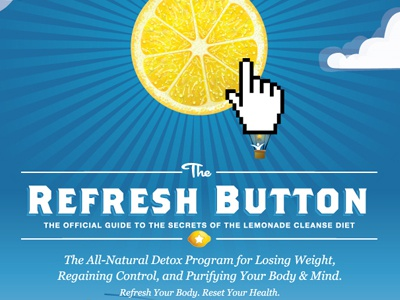 Lemonade Cleanse Book Cover 01 By Mcguire Design On Dribbble