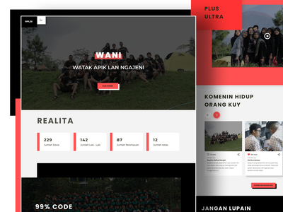 Yearbook Online - Exploration landing web clean ui uidesign ui clean yearbook