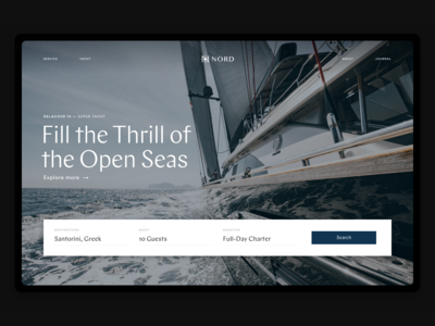 Nord - Yacht Service Website