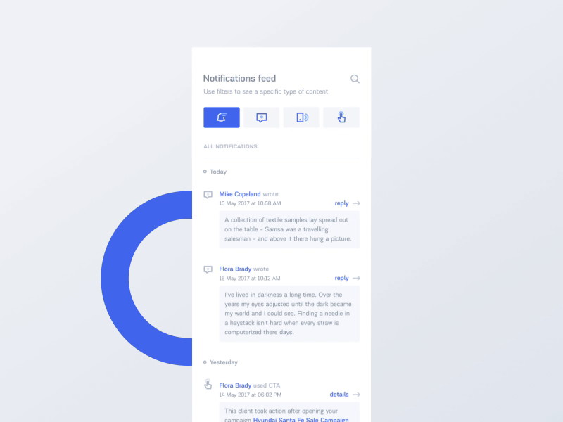 Dealer messenger notification feed publish 800x600
