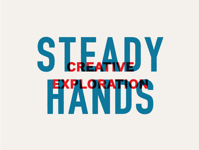 Steady Hands 01