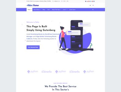 Gutenberg Ready WordPress Theme - FREE! wordpress theme wordpress plugin wordpress development wordpress design