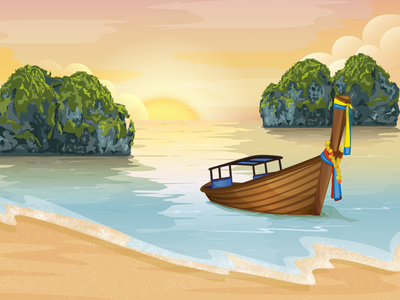 Web banner about traveling travel banner website illustration
