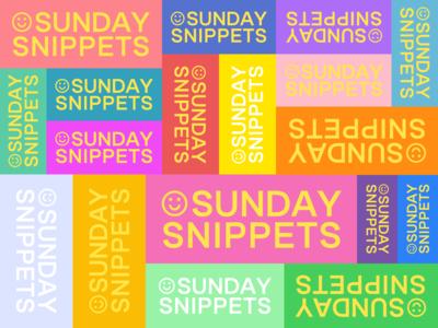Sunday Snippets