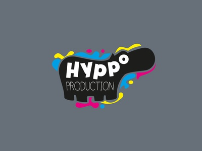Logotype for the Hyppo Production animal design illustration hyppo logo branding