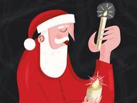 Christmas dude freebie free brushes cartoon character design digital art illustrator book illustration children book illustration character illustration