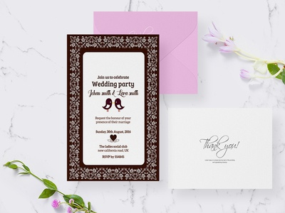 Wedding Invitation Card modern fresh wedding invitation card invitation card card wedding card invite invitation wedding
