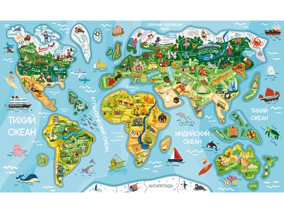 Big World Map Puzzle