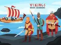 Vikings - brave warriors!