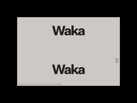 Waka Waka, The Full Collection intro motion portfolio typography website ecommerce design ecommerce colleciton chair furniture