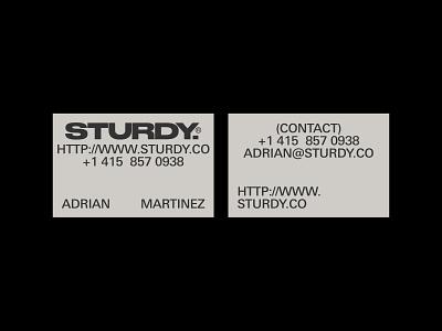 Sturdy - Cards