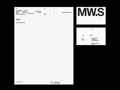 MW.S home gif hero website motion grid ui portfolio design typography