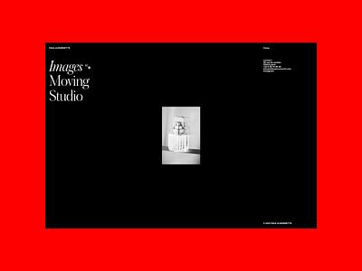 P&H website motion grid portfolio design typography