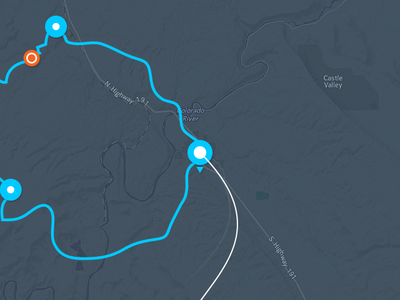 Map Interaction (alt) ui typography data map stats metrics statistics gif motion interaction app