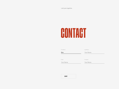 Aristide Benoist — About Page contact webgl 3d landing hero grid type ux ui about