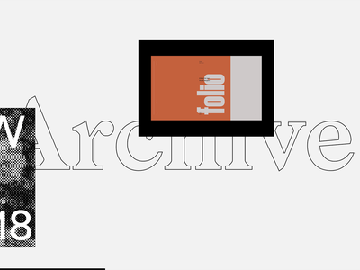 Portfolio — Archive parallax ux ui typography portfolio page navigation motion experiments gif drag archive