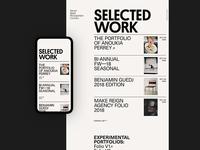 Ari — SELECTED WORK