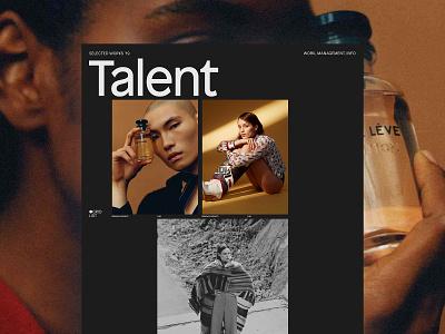 Ricky Michiels, ©2019 model typography website portfolio folio management photography fashion
