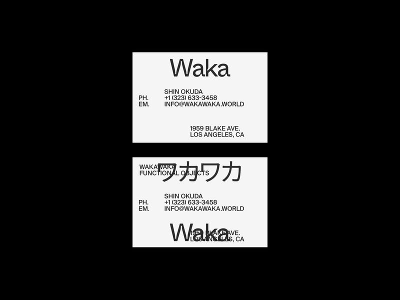 Cards design typography