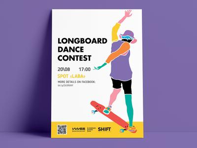 Print for Longboarding Dance contest