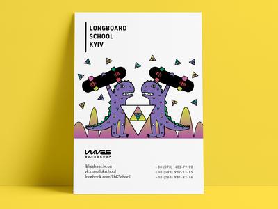 Print for Longboarding school
