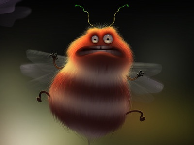 Insects illustration max kostenko
